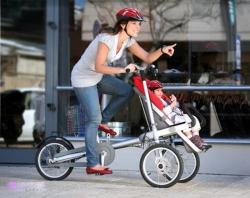 Велосипед как средство передвижения взрослых и детей