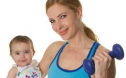 Вернуть форму после родов - фитнес после родов