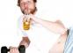 Как совместить алкоголь и фитнес?